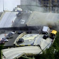 Землетрясения в США